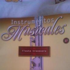 Coleccionismo: INSTRUMENTO MUSICAL FLAUTA TRAVESERA,COLECCIONABLE DE SALVAT.CON FACISCULO. . Lote 54863835