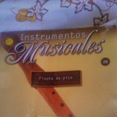 Coleccionismo: INSTRUMENTO MUSICAL FLAUTA DE PICO,COLECCIONABLE DE SALVAT.CON FACISCULO. . Lote 54863850