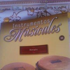 Coleccionismo: INSTRUMENTO MUSICAL BOMGOS,COLECCIONABLE DE SALVAT.CON FACISCULO. . Lote 54863872