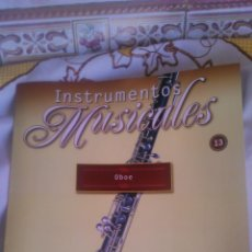 Coleccionismo: INSTRUMENTO MUSICAL OBOE,COLECCIONABLE DE SALVAT.CON FACISCULO. . Lote 54863954