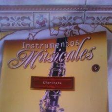 Coleccionismo: INSTRUMENTO MUSICAL CLARINETE COLECCIONABLE DE SALVAT.CON FACISCULO. . Lote 54863972