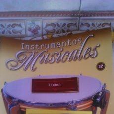 Coleccionismo: INSTRUMENTO MUSICAL TIMBAL ,COLECCIONABLE DE SALVAT.CON FACISCULO. . Lote 54864001