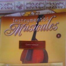 Coleccionismo: INSTRUMENTO MUSICALCONTRABAJO,COLECCIONABLE DE SALVAT.CON FACISCULO. . Lote 54864226