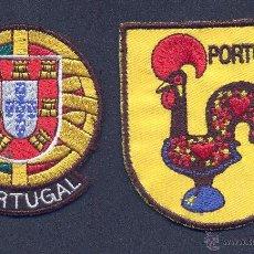 Coleccionismo: PARCHES PARA ROPA - PORTUGAL. Lote 54975001