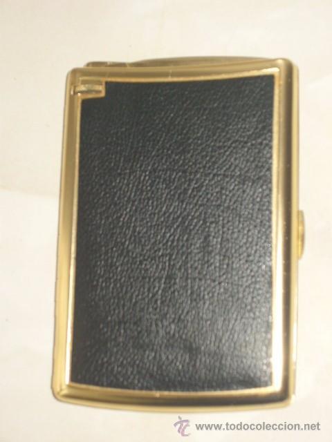 Coleccionismo: ANTIGUA PITILLERA CON MECHERO.AÑOS 60. - Foto 2 - 55057714