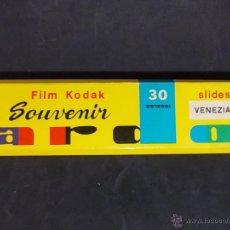 Coleccionismo: ANTIGUAS DIAPOSITIVAS DE FILM KODAK SOUVENIR DE VENEZIA. Lote 55084357