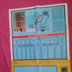 Coleccionismo: BARCELONA. PUBLICIDAD DE CONSTRUCTORA INMOBILIARIA. PISOS EN BARCELONA Y RIPOLLET. Lote 55123519