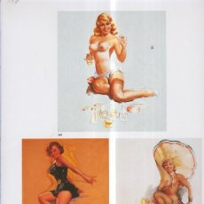 Coleccionismo: PIN UP LAMINA 146: TED WITHERS. Lote 55482518