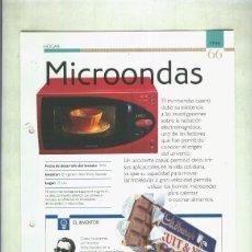 Coleccionismo: MICROONDAS: SON 4 PAGINAS Y . Lote 55562983