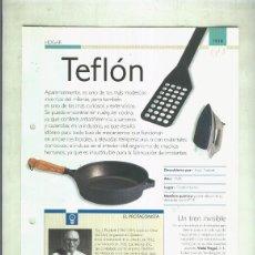 Coleccionismo: TEFLON:: SON 4 PAGINAS Y. Lote 55562988