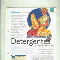 Coleccionismo: DETERGENTES: SON 4 PAGINAS Y . Lote 55562998