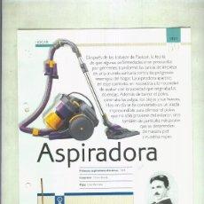 Coleccionismo: ASPIRADORA: SON 4 PAGINAS Y. Lote 55563000
