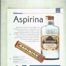 Coleccionismo: ASPIRINA: SON 4 PAGINAS Y. Lote 55563001