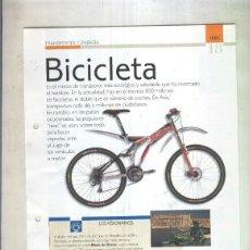 Coleccionismo: BICICLETA: SON 4 PAGINAS Y . Lote 55563005