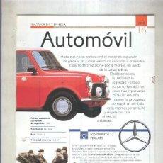 Coleccionismo: AUTOMOVIL: SON 4 PAGINAS Y. Lote 55563006