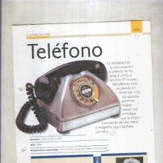 Coleccionismo: TELEFONO: SON 4 PAGINAS Y . Lote 55563011
