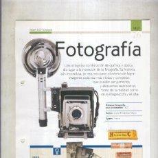 Coleccionismo: FOTOGRAFIA: SON 4 PAGINAS Y. Lote 55563019