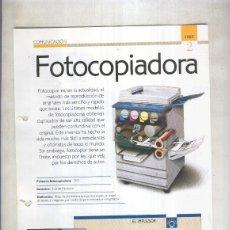 Coleccionismo: FOTOCOPIADORAS SON 4 PAGINAS Y. Lote 55563026