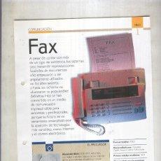 Coleccionismo: FAX: SON 4 PAGINAS Y . Lote 55563032