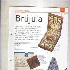 Coleccionismo: BRUJULA: SON 4 PAGINAS Y . Lote 55563050