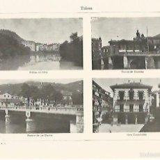 Coleccionismo: LAMINA ESPASA 1287: VISTAS DE TOULOUSE. Lote 55680795