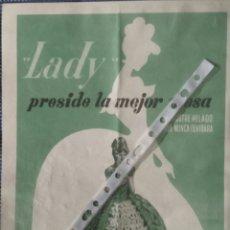 Coleccionismo: PUBLICIDAD HELADOS ILSA FRIGO DE 1958. Lote 55683472