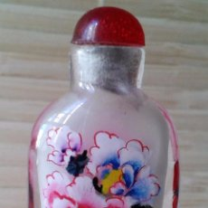 Coleccionismo: PEQUEÑÍSIMA SNUFF BOTTLE / TABAQUERA DE GRAN CALIDAD. IMPORTADA DE CHINA.. Lote 91860270