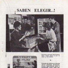 Coleccionismo: ANUNCIO PUBLICIDAD LICOR NECTAR CREAM DE GONZALEZ BYASS. Lote 55796846