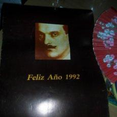 Coleccionismo: ALMANAQUE DE PARED LAMINAS PINTOR JULIO ROMERO. Lote 55889389