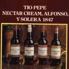 Coleccionismo: ANUNCIO PUBLICIDAD BODEGAS GONZALEZ BYASS. Lote 55912655