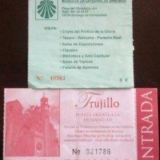 Coleccionismo: ENTRADA MUSEO CATEDRAL DE SANTIAGO. Lote 55995978