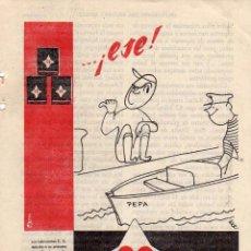 Coleccionismo: ANUNCIO PUBLICIDAD ACEITE MOTOR CS. Lote 56119461