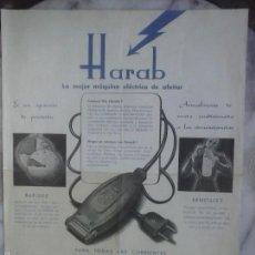 Coleccionismo: FOLLETO HARAB .. Lote 56122181