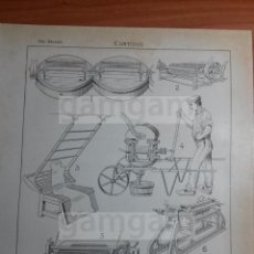 Coleccionismo: CURTIDOS -AÑO 1912- 24.5 X 15,5 CM (REF BD) TRABAJO , HERRAMIENTAS Y MAQUINAS ANTIGUAS. Lote 56164850