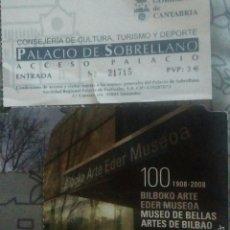 Colecionismo: ENTRADA MUSEO DE BELLAS ARTES DE BILBAO. Lote 57753825