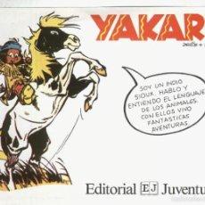 Coleccionismo: FOLLETO PROPAGANDA EDITORIAL JUVENTUD: YAKARI. Lote 55451054