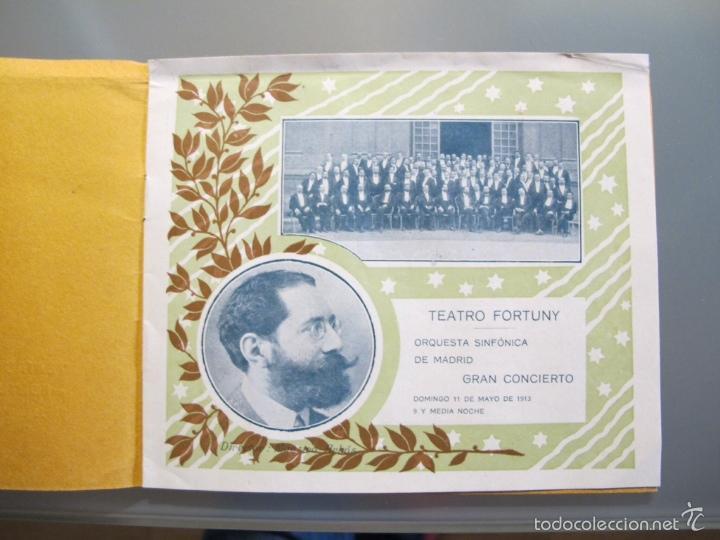 Coleccionismo: Programa de la Orquesta Sinfónica de Madrid 1913 - Foto 2 - 56258802