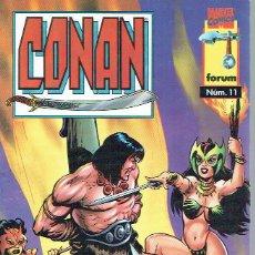 Coleccionismo: CONAN, Nº 11 (Y ÚLTIMO). - ¡AMAZONAS!.. Lote 56358945