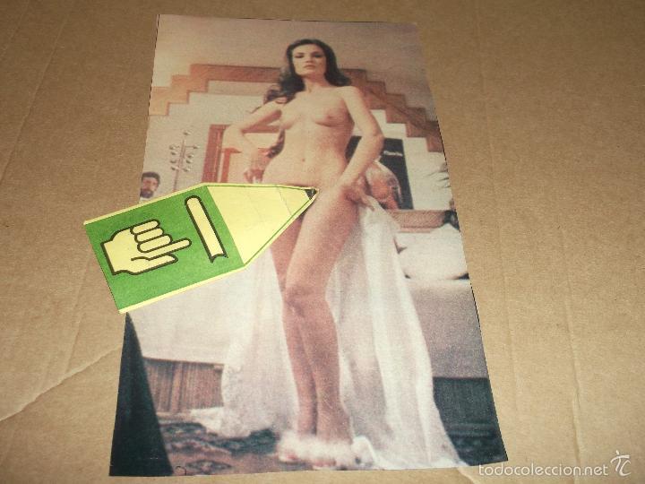 Hoja Recorte De Revista Maria Jose Cantudo De Sold Through