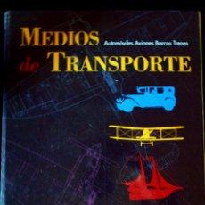 Coleccionismo: COLECCION DE FASCICULOS DEL - EL PAIS - MEDIOS DE TRASPORTE , TRENES , AVIONES , BARCOS. AÑOS 90. Lote 56658280