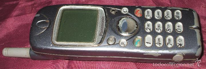 TELEFONO MOVIL PANASONIC GD92 DEL 2000 + CARGADOR TELEFONO VINTAGE (Coleccionismo - Varios)