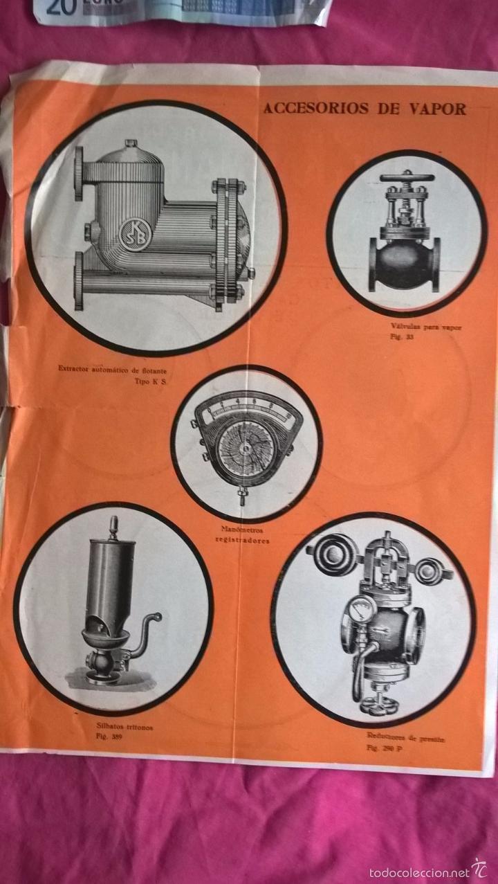 Coleccionismo: Publicidad antigua de aparatos y accesorios para calderas y aparatos de vapor. Faust y Kammann - Foto 2 - 56724593