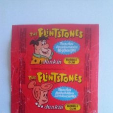 Coleccionismo: ENVOLTORIO CHICLE DUNKIN - LOS PICAPIEDRA - CHICLES. Lote 56740691