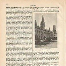 Coleccionismo - LAMINA ESPASA 4280: Universidad de Caracas - 56821929