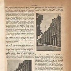 Coleccionismo - LAMINA ESPASA 4283: Biblioteca. Caracas Venezuela - 56821932