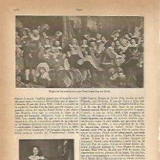 Coleccionismo: LAMINA ESPASA 4842: FIESTA DE LOS ARCABUCEROS POR VAN DER HELST. Lote 56822558