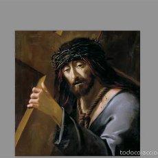 Coleccionismo: AZULEJO 10X10 DE JESÚS NAZARENO. Lote 56828042
