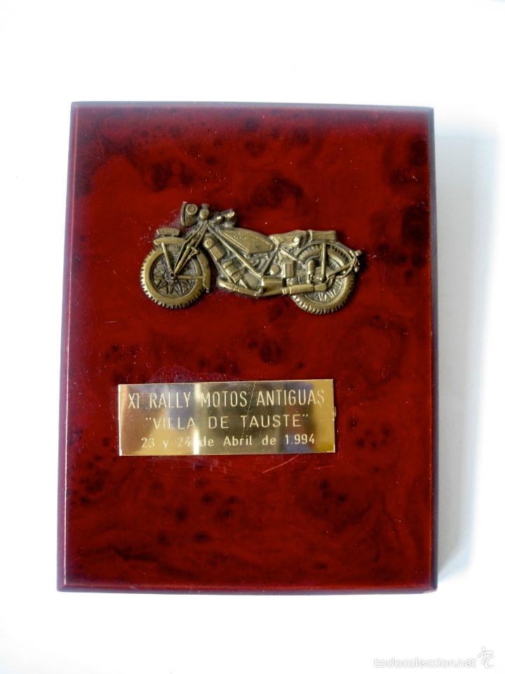 METOPA XI RALLY MOTOS ANTIGUAS - ABRIL 1994 - AYUNTAMIENTO TAUSTE (Coleccionismo - Varios)