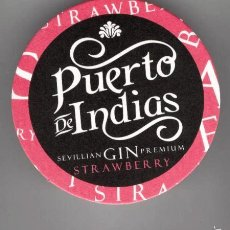 Coleccionismo: POSAVASO / GINEBRA *PUERTO DE INDIAS* SEVILLA. Lote 56896137
