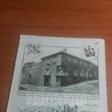 Coleccionismo: BARCELONA, SASTRERIA EL FARO -ANUNCIO DEL AÑO 1911- (REFAN21)**. Lote 56903017
